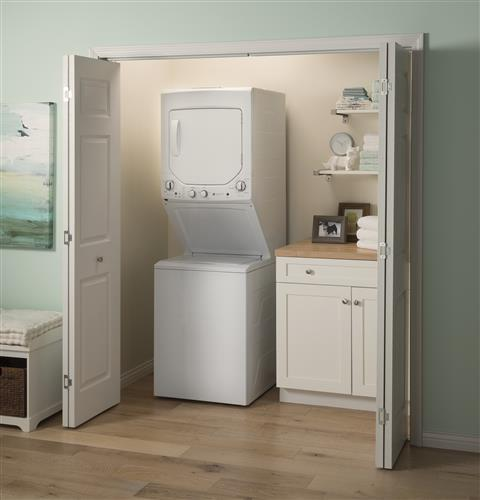 GE Unitized Spacemaker® Laundry Center