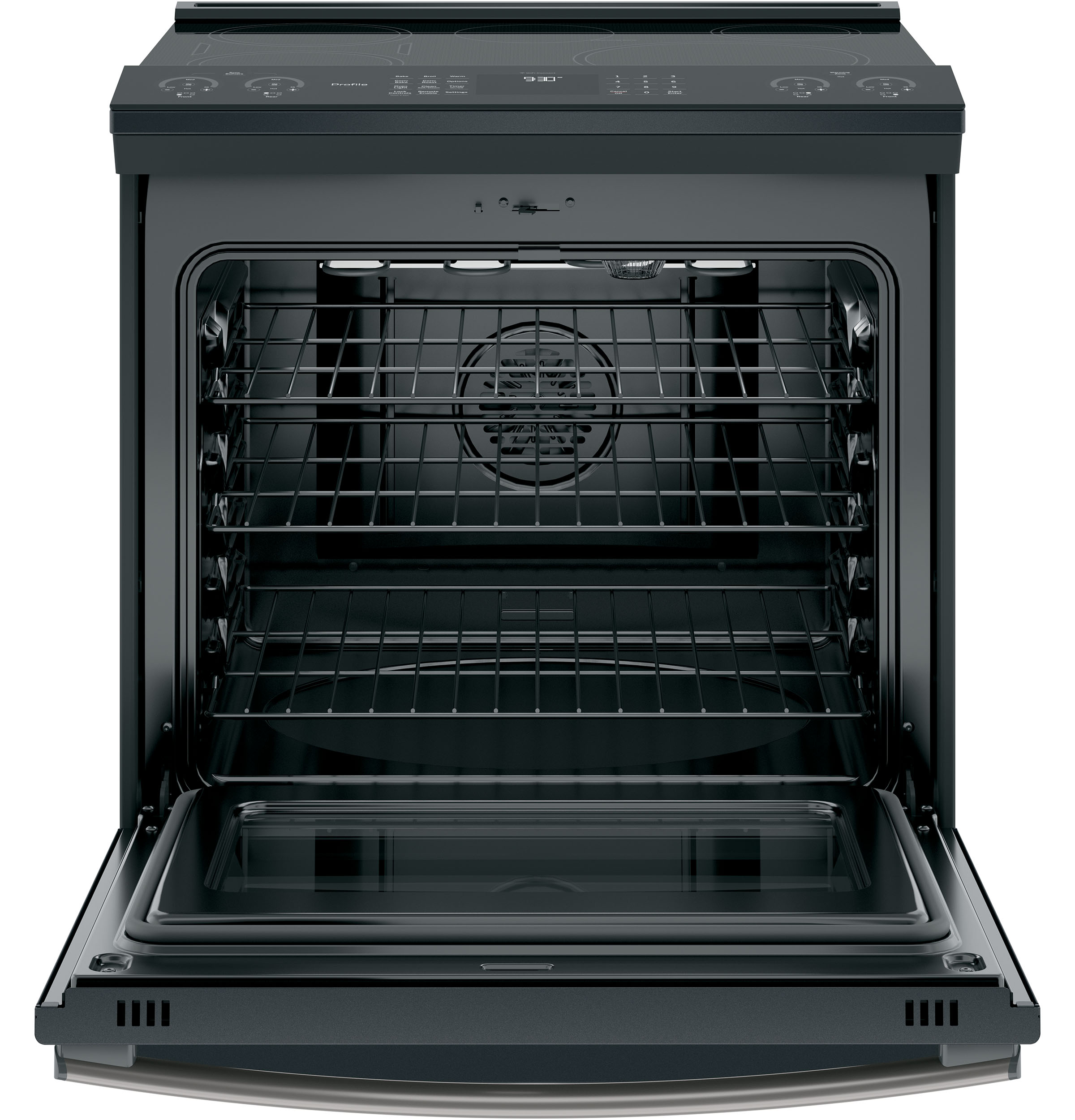 "Model: PHS930FLDS | GE Profile GE Profile™ Series 30"" Slide-In Front Control Induction and Convection Range"