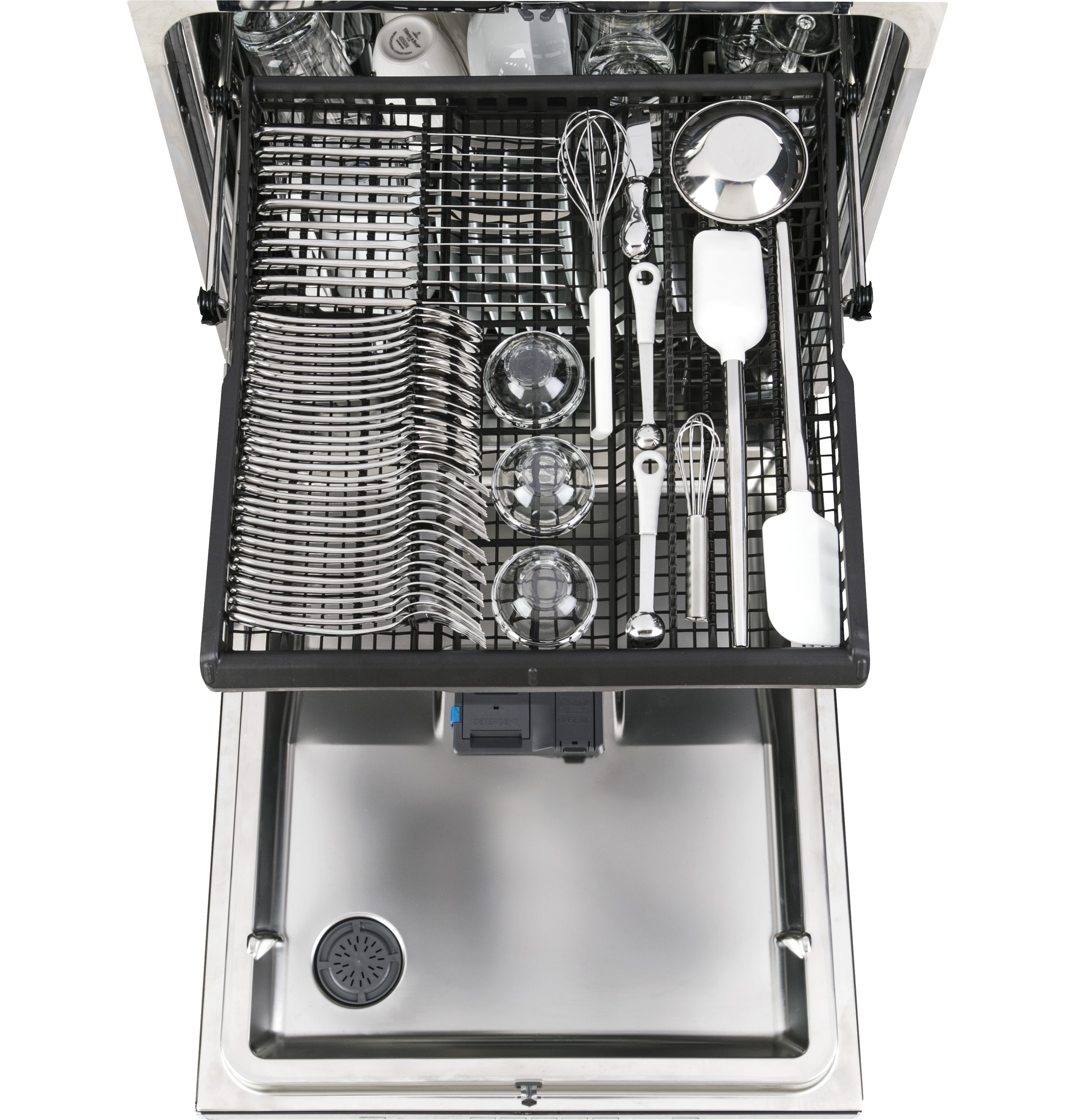 Model: PDT855SFLDS | GE Profile™ Stainless Steel Interior Dishwasher with Hidden Controls