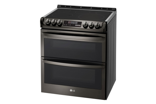 "Model: LTE4815BD | LG 30"" ELECTRIC DOUBLE SLIDE-IN RANGE"