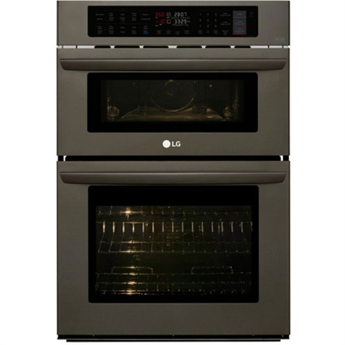 "Model: LWC3063BD | LG 30"" ELECTRIC WALL OVEN / MICROWAVE COMBO"