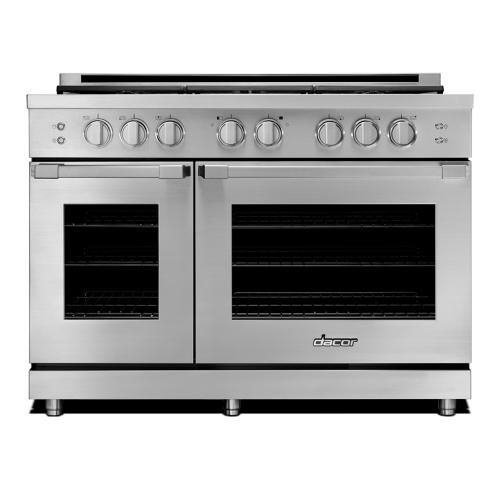 "48"" Heritage All Gas Pro Range - Stainless Steel Liquid Propane"