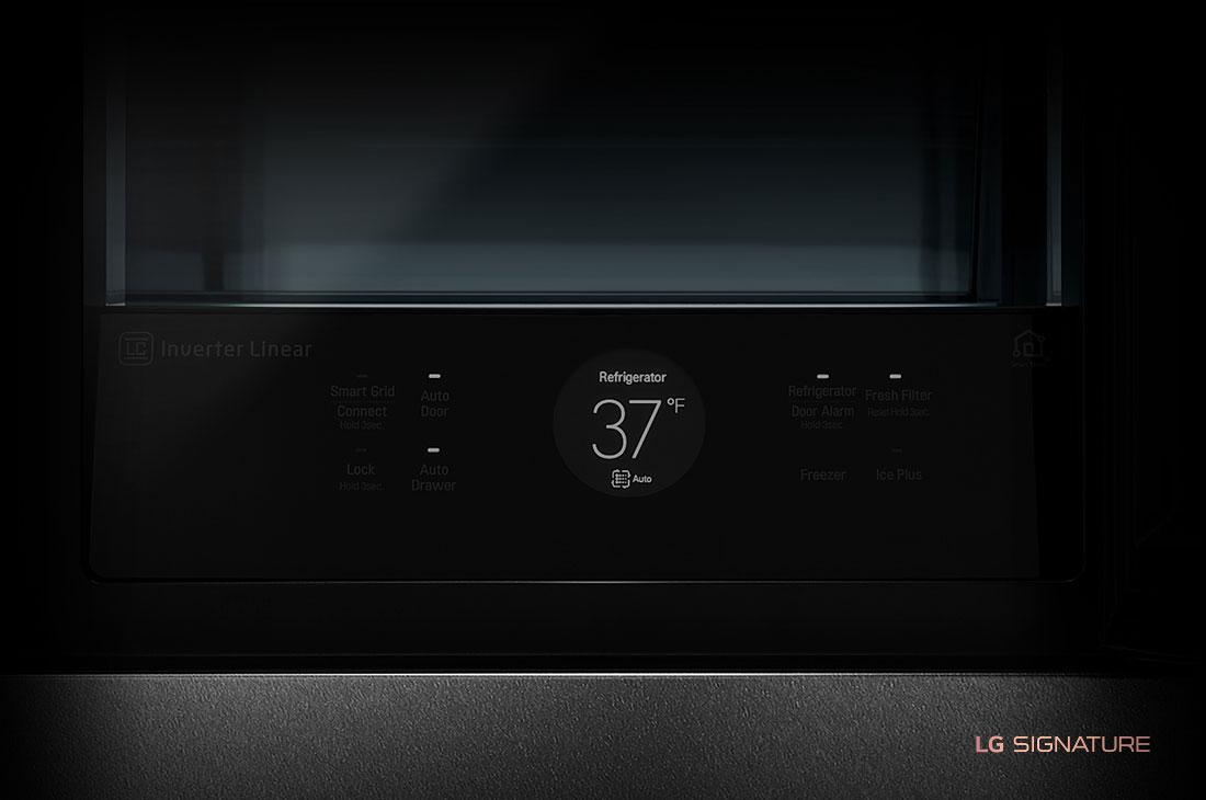 LG SIGNATURE 23 cu. ft. Smart wi-fi Enabled InstaView™ Door-in-Door® Counter-Depth Refrigerator