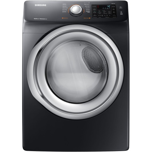 7.5 CF ELECTRIC FL DRYER - BLACK STAINLESS STEEL
