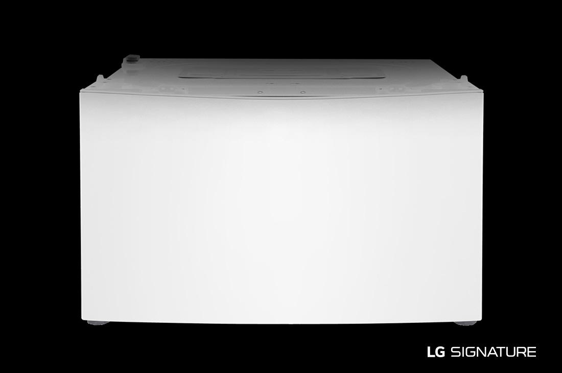 Model: LUWD1CW   LG Signature LG SIGNATURE: 0.7 cu. ft. LG SideKick™ Pedestal Washer