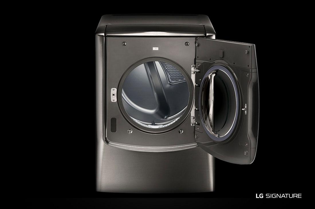 Model: DLGX9501K | LG Signature LG SIGNATURE 9.0 cu. ft. Large Smart wi-fi Enabled Gas Dryer w/ TurboSteam™