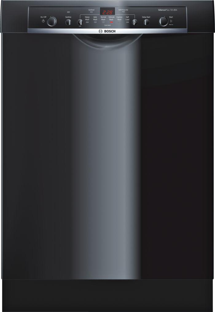 Ascenta®24 '' Recessed Handle DishwasherSHE3AR76UCBlack