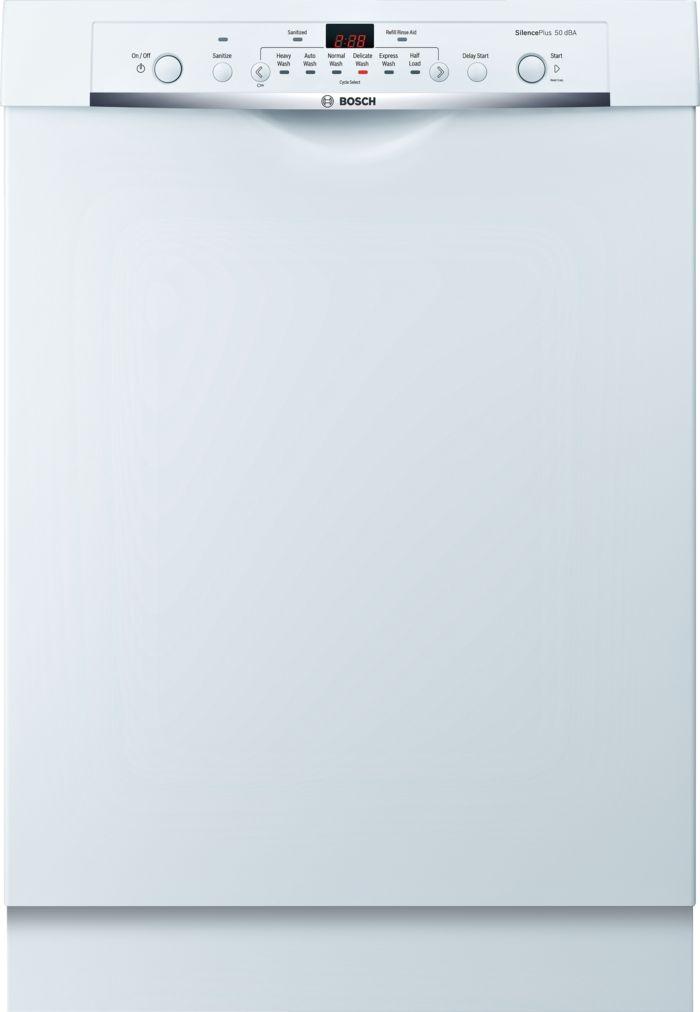Ascenta®24 '' Recessed Handle DishwasherSHE3AR72UCWhite
