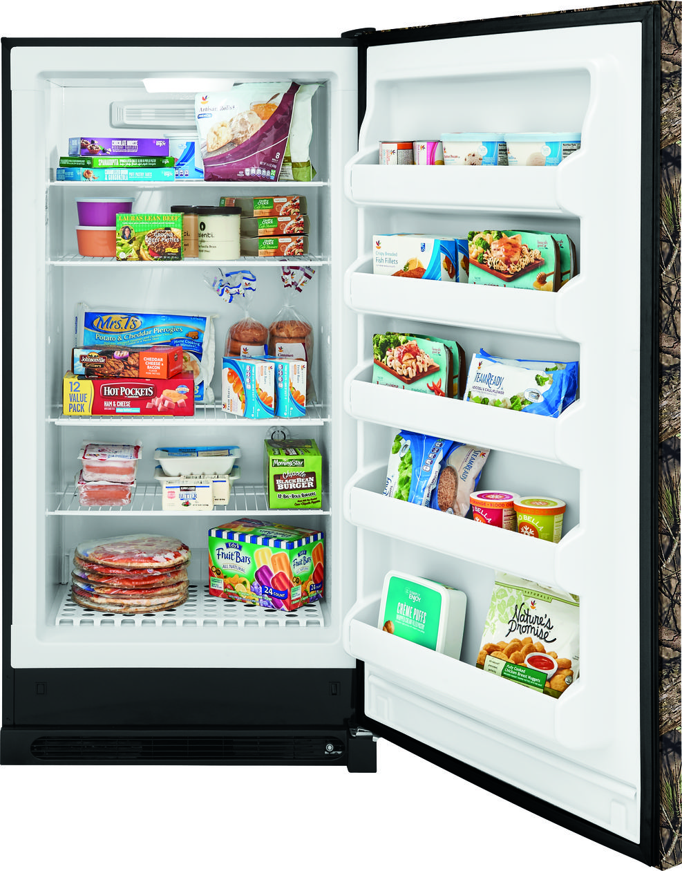 16.6 Cu. Ft. Camouflage 2-in-1 Upright Freezer or Refrigerator