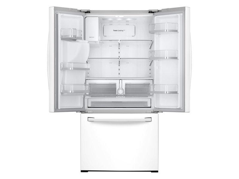 Samsung Rf26j7500ww 26 Cu Ft 3 Door French Door Refrigerator
