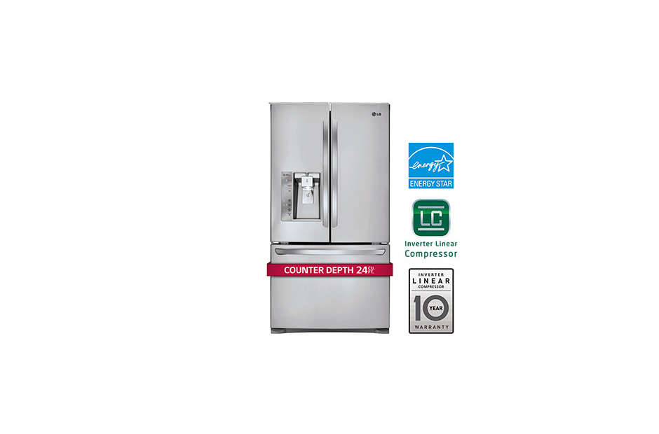 French Door Counter Depth Refrigerator