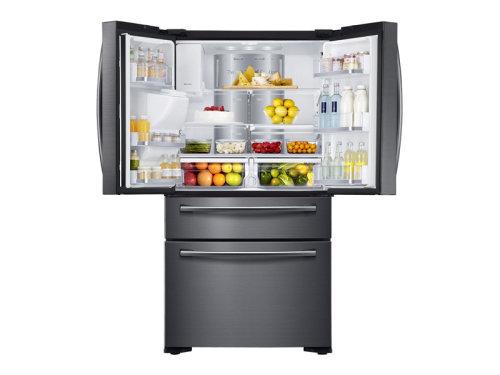 Model: RF22NPEDBSG | Samsung 22 cu. ft. Counter Depth 4-Door Flex™