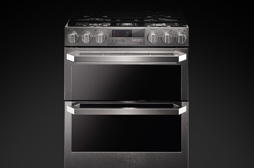 LG Signature LG SIGNATURE 7.3 cu.ft. Smart wi-fi Enabled Dual Fuel Double Oven Range with ProBake Convection®