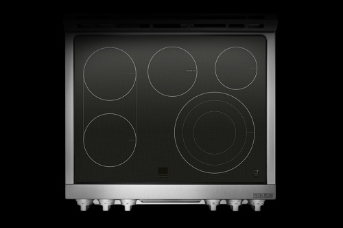 Model: LUTE4619SN | LG Signature LG SIGNATURE 7.3 cu.ft. Smart wi-fi Enabled Electric Double Oven Slide-In Range with ProBake Conv