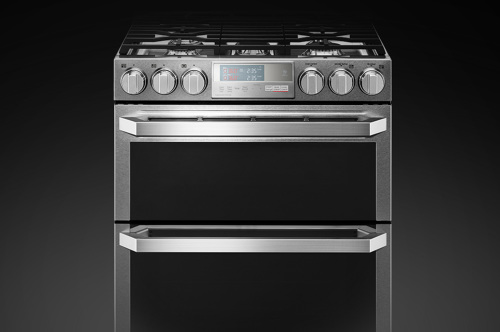 LG Signature LG SIGNATURE 6.9 cu.ft. Smart wi-fi Enabled Gas Double Oven Slide-In Range with ProBake Convection®