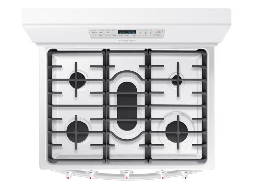 Model: NX58M5600SW | Samsung 5.8 cu. ft. Gas Range with Convection