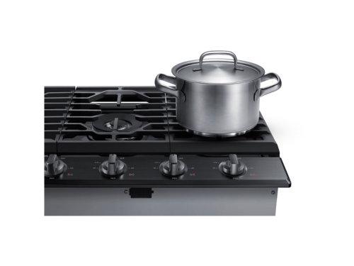 "Model: NA30N6555TG | Samsung 30"" Gas Cooktop"