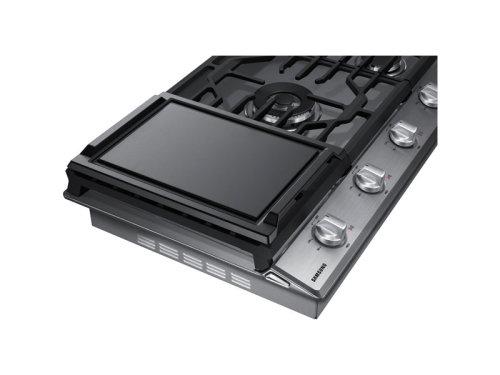 "Model: NA36N6555TS | Samsung 36"" Gas Cooktop"
