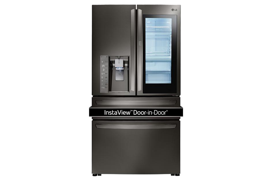 23 cu. ft. Smart wi-fi Enabled InstaView™ Door-in-Door® Counter-Depth Refrigerator