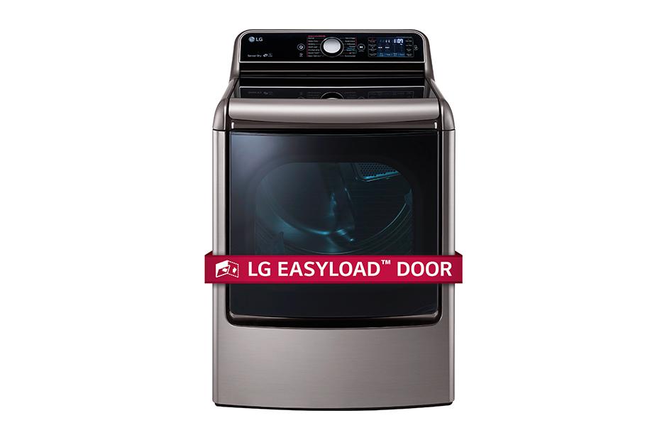 9.0 cu.ft. Mega Capacity TurboSteam™ Dryer with EasyLoad™ Door