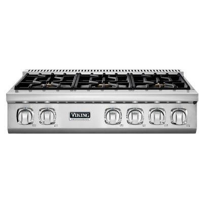 "Viking 36"" 7-SERIES GAS RANGETOP 6B- SS"