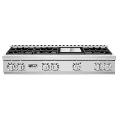 "Viking 48"" 7-SERIES RANGETOP 6G- SS/LP"