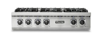 "Viking CUSTOM GAS 36""W RANGETOP 6B- SS/LP"