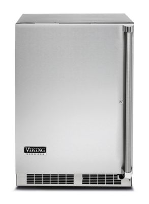 "Viking 24""W OUTDOOR REFRIGERATOR W/INTERIOR DRAWER"