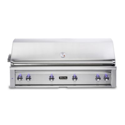 Model: VQGI5540LSS | Viking 54: BUILT-IN GRILL W/PRO SEAR BURNER & ROTISSERIE - Propane