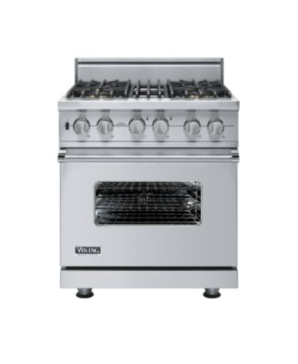 "Viking PRO GAS SELF CLEAN 30""W SEALED BURNER RANGE - 4B - SS"