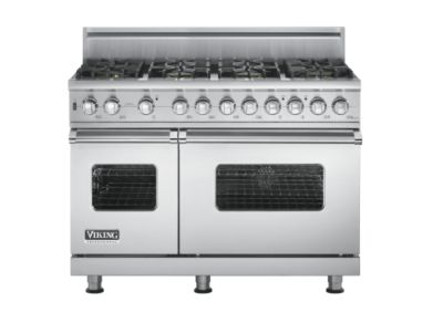 "Viking PRO GAS SELF CLEAN 48""W SEAL BURNER RANGE - 8B - SS"