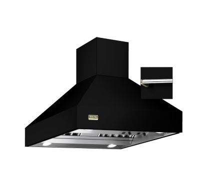 "Viking 36""W/24""D/18""H CHIMNEY ISLAND HOOD BK"