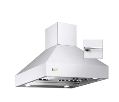 "Viking 36""W/24""D/18""H CHIMNEY ISLAND HOOD WH"