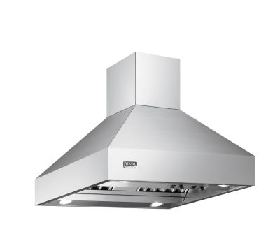 "Viking 36""W/24""D/18""H CHIMNEY ISLAND HOOD SS"