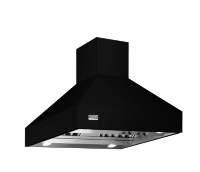 "Viking 42""W/24""D/18""H CHIMNEY ISLAND HOOD BK"