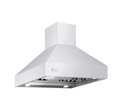 "Viking 66""W/24""D/18""H CHIMNEY ISLAND HOOD WH"