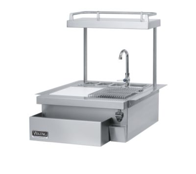 "Viking BUILT-IN 24"" W. REFRESHMENT STATION - SS"