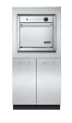 "Viking 32""W X 30""D X 68""H GAS OVEN BASE WITH STORAGE"