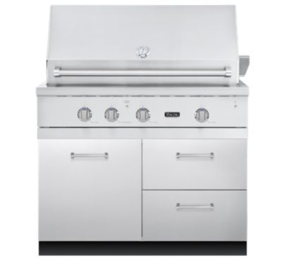 "Viking 41""W. BBQ BAS CABINET - 2 DRAWERS; 1 DOOR"