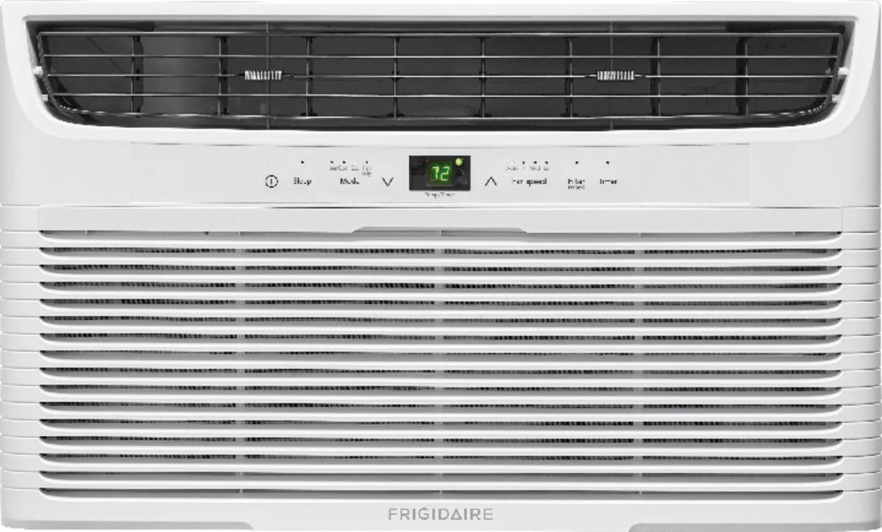 12,000 BTU Built-In Room Air Conditioner with Supplemental Heat- 230V/60Hz