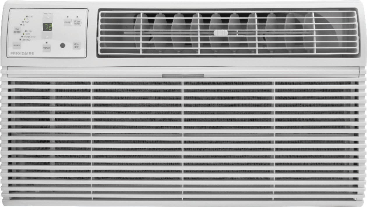 14,000 BTU Built-In Room Air Conditioner with Supplemental Heat