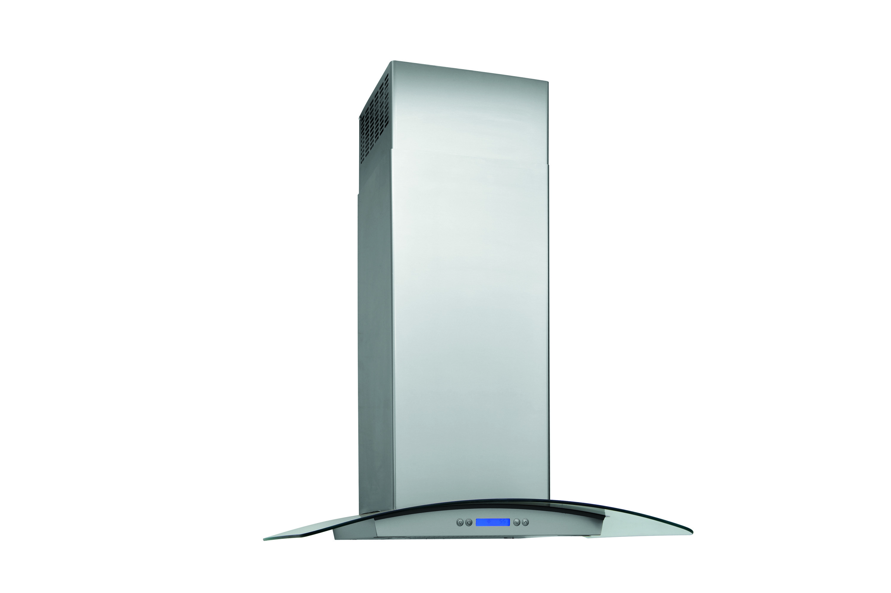 "Model: RH30WC60GS | Electrolux 30"" Glass and Stainless Canopy Wall-Mount Hood"