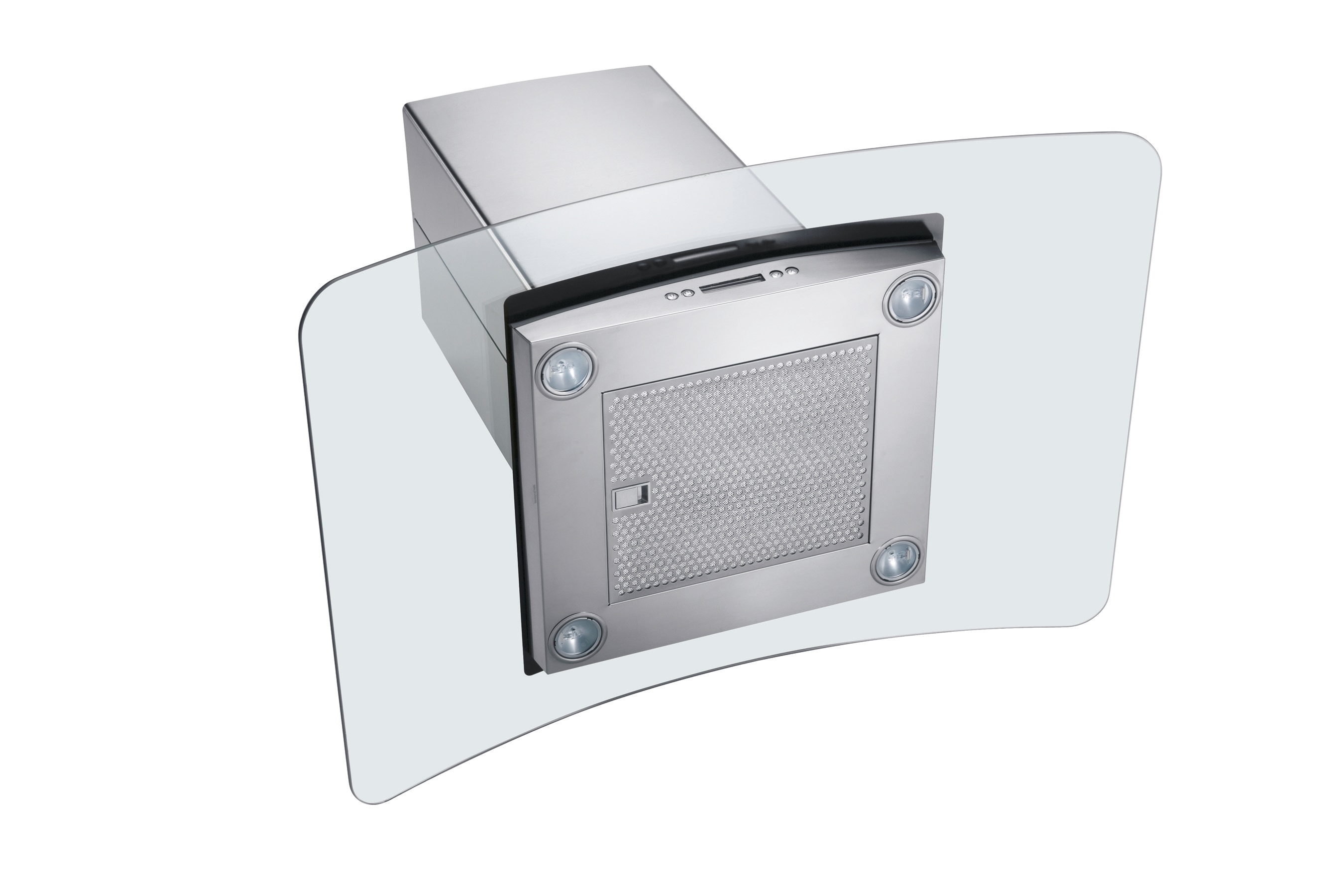 "Model: RH36PC60GS | Electrolux 36"" Glass and Stainless Canopy Island-Mount Hood"