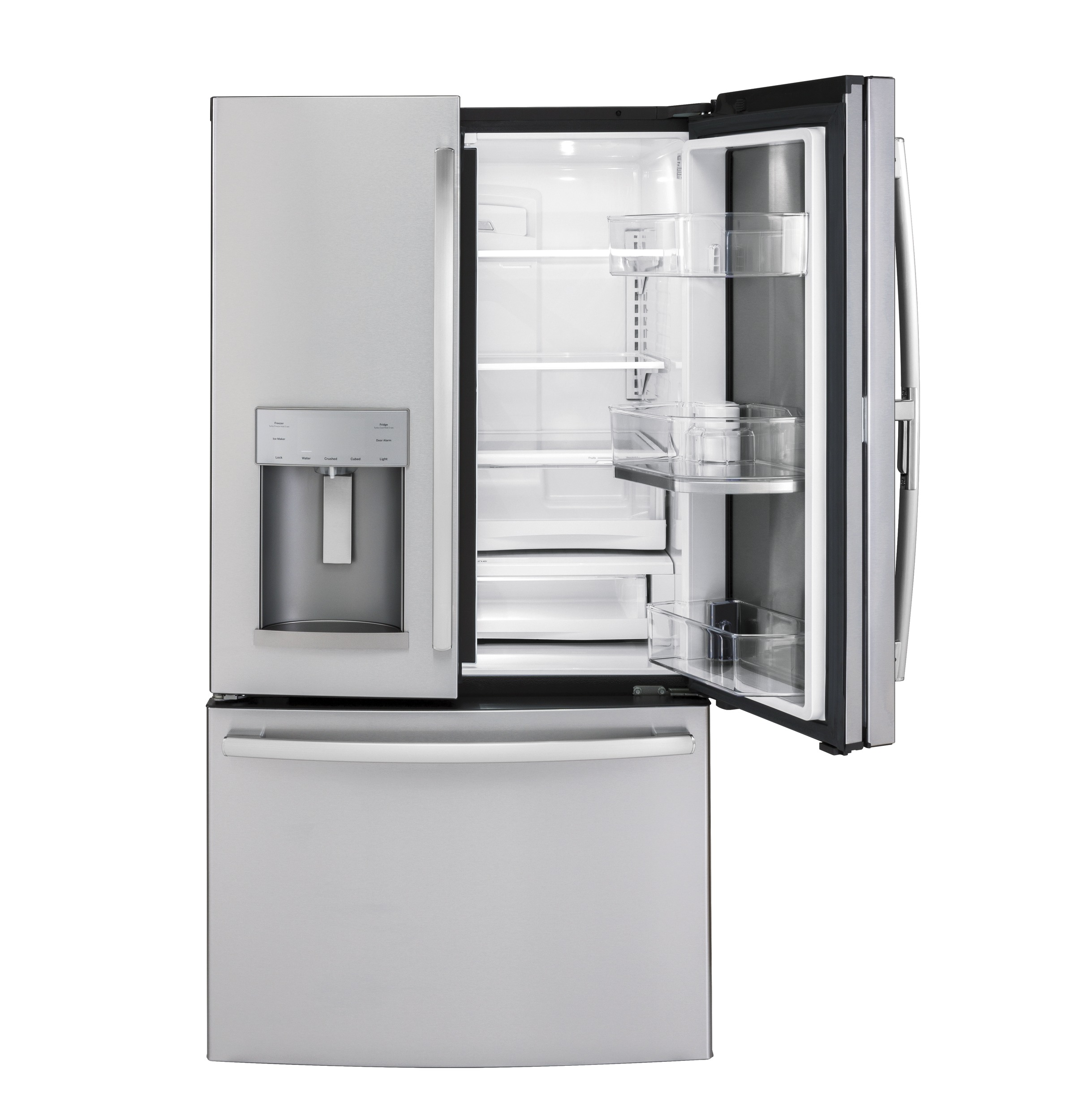 Ge Gfd28gslss Ge 278 Cu Ft French Door Refrigerator With