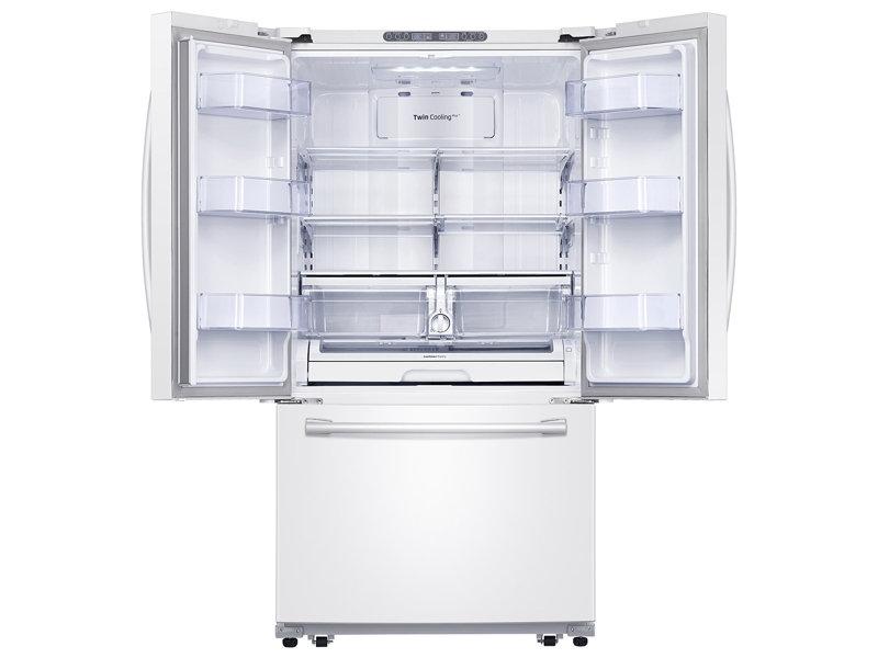 Samsung Rf261beaeww 26 Cu Ft French Door Refrigerator With