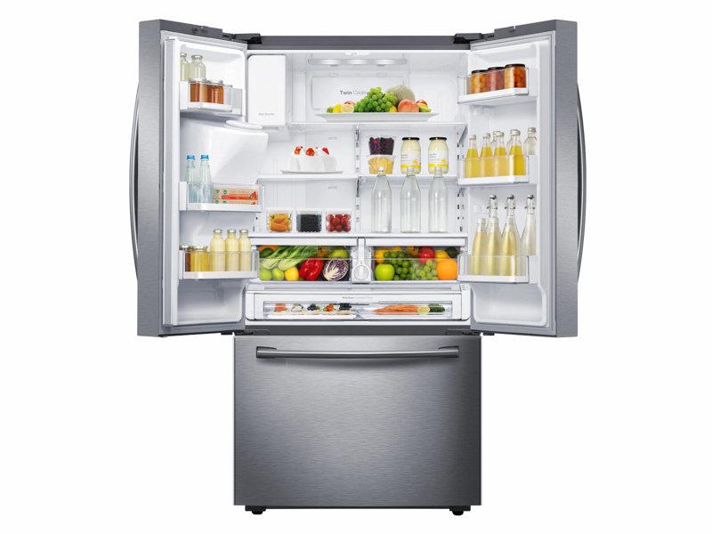 Samsung Rf23hcedbsr 23 Cu Ft French Door Refrigerator