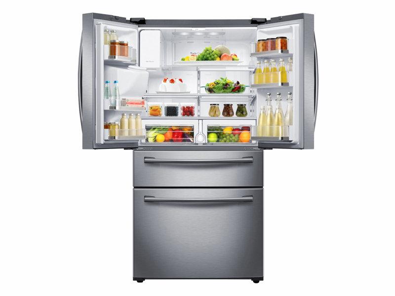 4 Door French Door Refrigerator