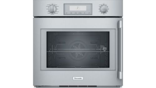 Thermador 30-Inch Professional Single Wall Oven with Left-Side Swing Door POD301LW
