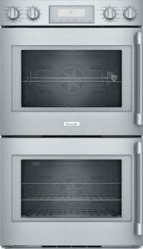 Thermador 30-Inch Professional Double Wall Oven with Left-Side Swing Door POD302LW