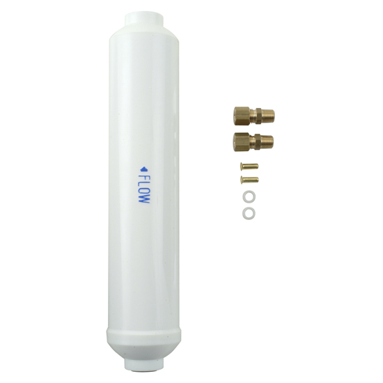 Refrigerator Water Filter - In-Line with Fittings